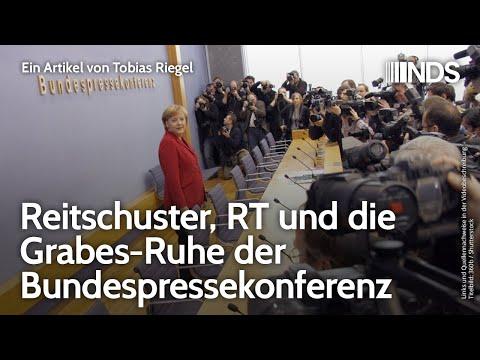 Reitschuster, RT und die Grabes-Ruhe der Bundespressekonferenz
