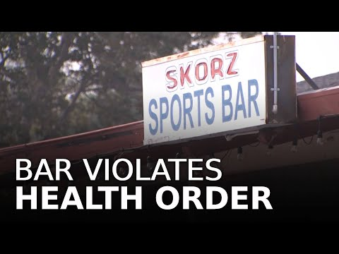 Bay Area Bar Charged for Staying Open, Violating Health Order