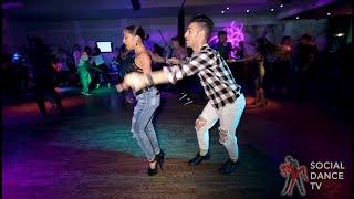 Michele Angeloni & Jessica Quiles Hernandez - Salsa Social Dancing | Camana Club (Milan, Italy)