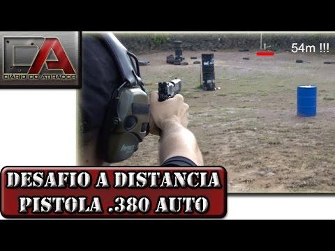 Qual o seu alcance máximo com uma pistola? Teste prático!