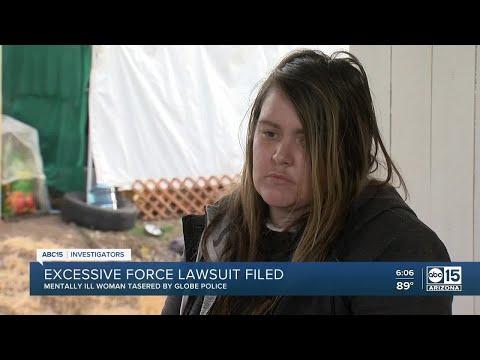 Arizona woman files excessive force lawsuit against Globe po