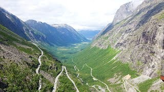 Norwegen (2): Romsdal und Trollwand (Trollveggen)