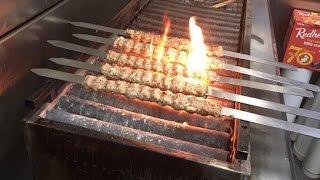 How To Make, Skewer & Cook Indian Seekh Kebab