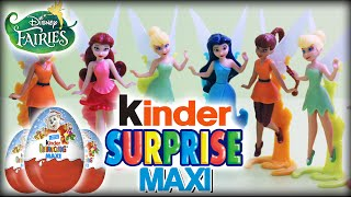 ♥ 10 Kinder Surprise MAXI Eggs Disney Fairies Überraschungseier (BIG Tinkerbell, Silvermist, Fawn)