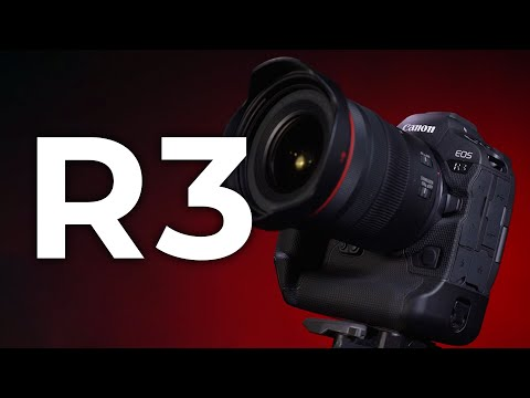 Canon Unveils EOS R3 Mirrorless Camera and Two RF Lenses;...