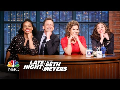 Jokes Seth Can't Tell with America Ferrera: Young Harriet Tubman, Two Gay Penguins
