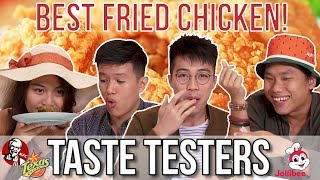 BEST FRIED CHICKEN IN SINGAPORE | Taste Testers | EP 76