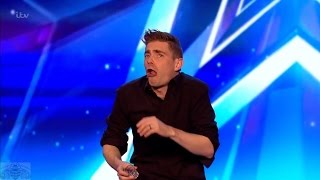 Britain's Got Talent 2017 Matt Edwards Hilarious Comedic Magician Full Audition S11E05 thumbnail