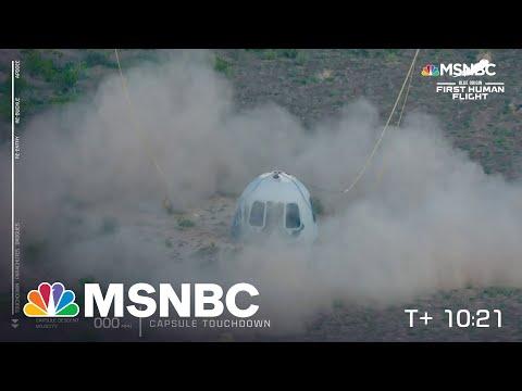 'Touchdown!': Blue Origin Capsule Lands Back On Earth