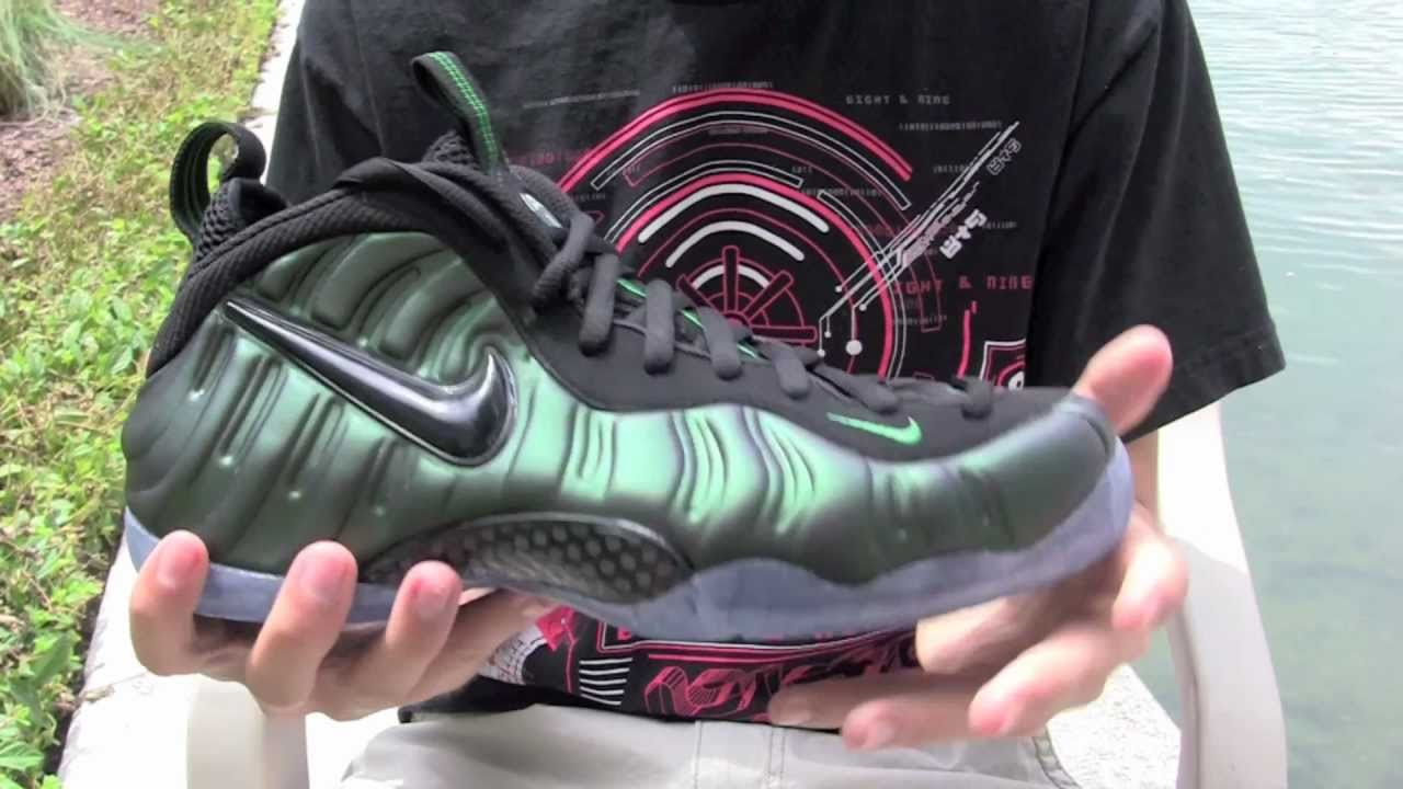 b34cf3600d2 Stickie213 - Nike Air Foamposite Pro Dark Pine - YouTube