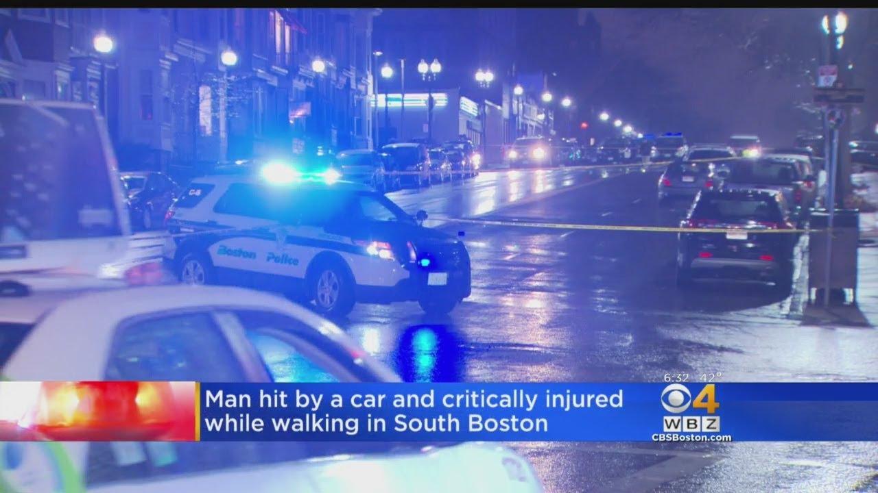 Man Hit By Car While Walking In South Boston
