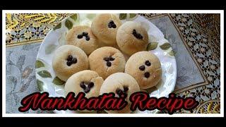 Nankhatai Recipe | Nankhatai Biscuits Recipe | Diwali Special Nankhatai | Eggless Nankhatai