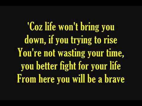 BILLFOLD  - Brave  With Lyrics