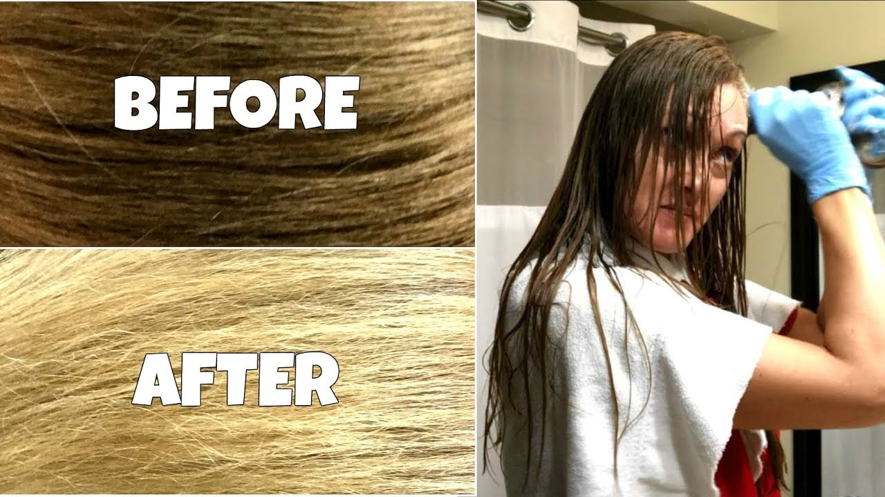 Diy Natural Hair Lightening Color Removal No Damage Youtube