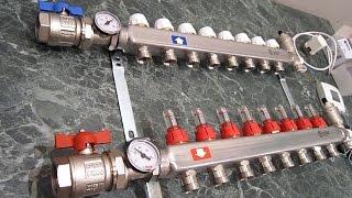 видео Виды системы отопления «Теплый пол»