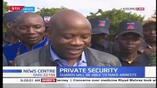 Private Guards To Be Armed And Able To Make Arrests | Private Security