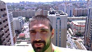 Заселился в Хостел с красивым видом с крыши! Астана