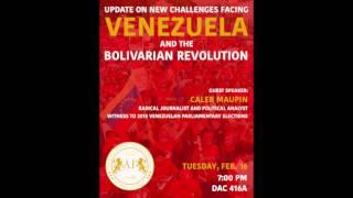 Venezuela's Revolution & The Global Economy - Caleb Maupin