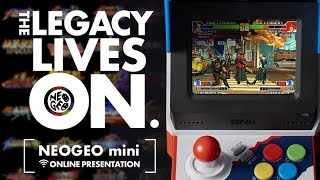 Neogeo mini online presentation: the legacy lives on.