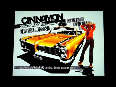 Crazy Taxi 1-3: All Cabbie & Vehicle Combinations