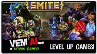 Level Up - Smite - M.O.B.A (BR)