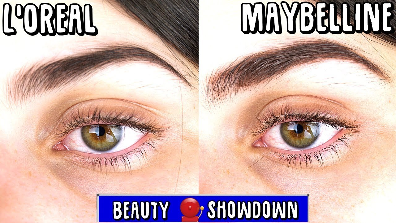 1db2738cd7d L'oreal Brow Stylist Boost And Set Review VS Maybelline Tattoo Studio Brow  Gel Review