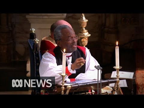 Royal wedding: The fiery Reverend who stole the show