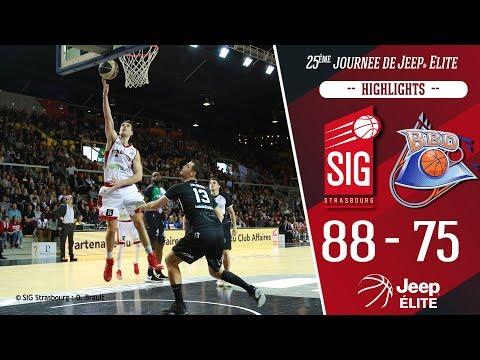 SIG Strasbourg-Boulazac: Highlights et réactions Jérémy Leloup