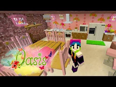 MINECRAFT  Oasis #9 - A cozinha mais fofinha do mundo!
