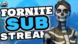 FORTNITE PS4 LIVE ROAD TO 2K SUBS BEEF BOSS SKIN - FORTNITE TUESDAY