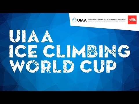 LIVE! Speed Qualification and Final l UIAA Ice Climbing World Cup 2018 l Cheongsong, South Korea