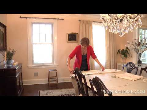 How to hang french pleated drapery panel.  Do it yourself! Decorate your room with French style!