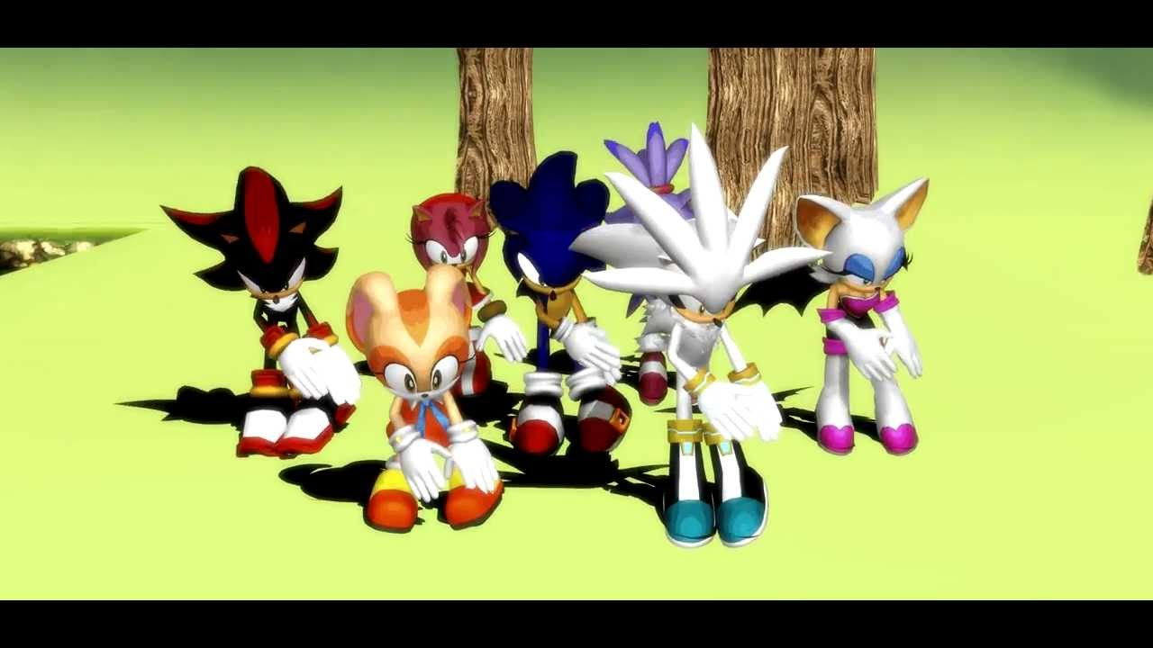 Mmd sonic what does the fox say youtube