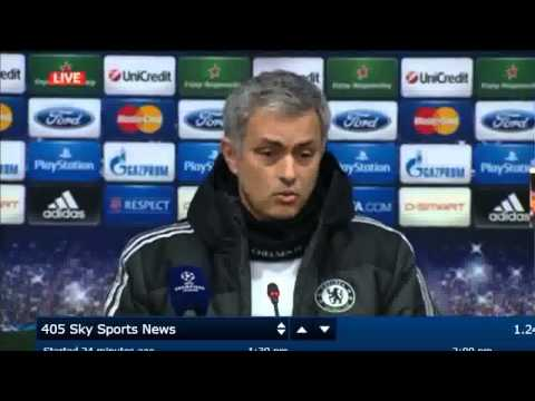 Chelsea's Jose Mourinho mocks Samuel Eto'o in unguarded TV comments 25 02 2014