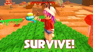 ROBLOX SURVIVE THE DISASTERS 2 | SLIME GUN GET YOU! | RADIOJH GAMES & MICROGUARDIAN