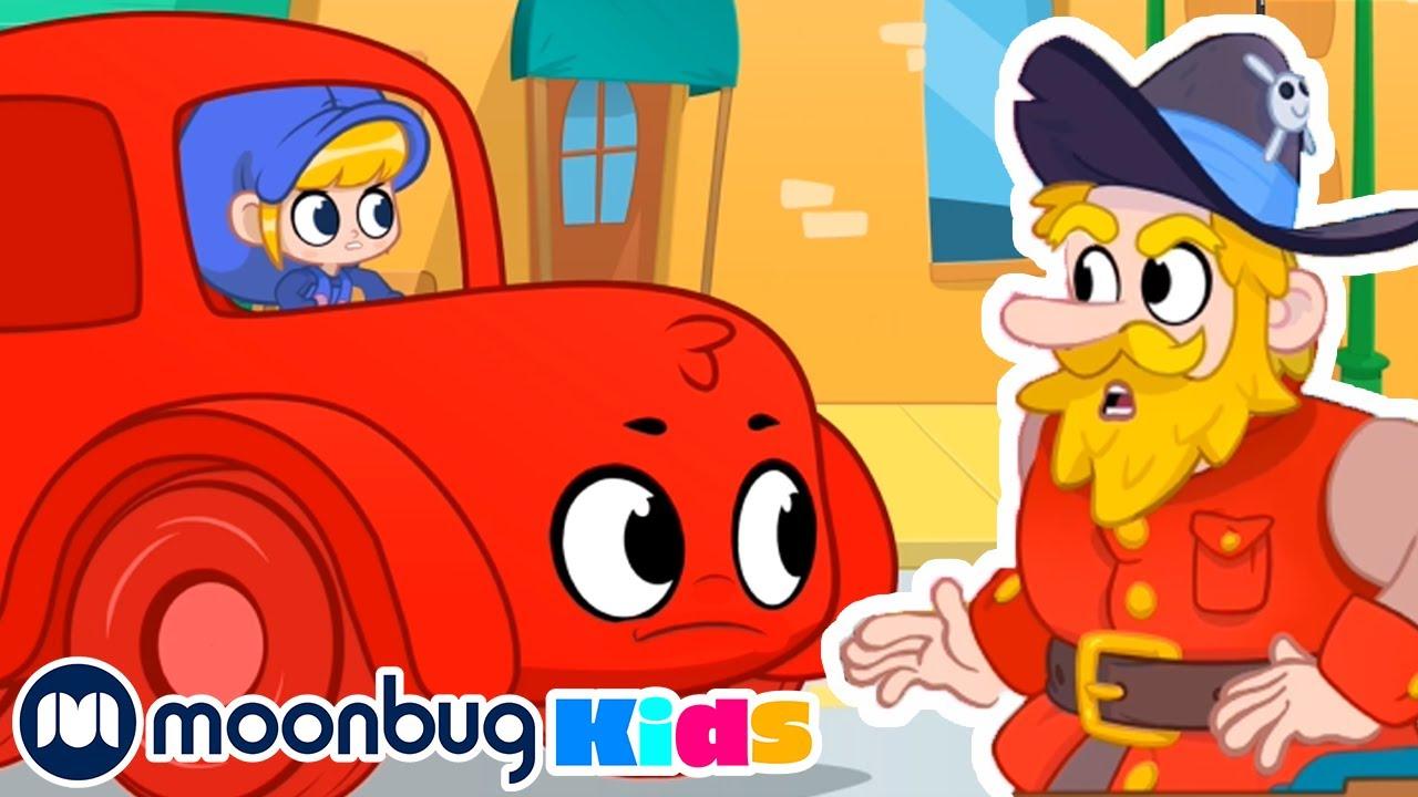 Land of Pirates  | Morphle Full Episodes | My Magic Pet Morphle | Cartoons For Kids | Moonbug Kids