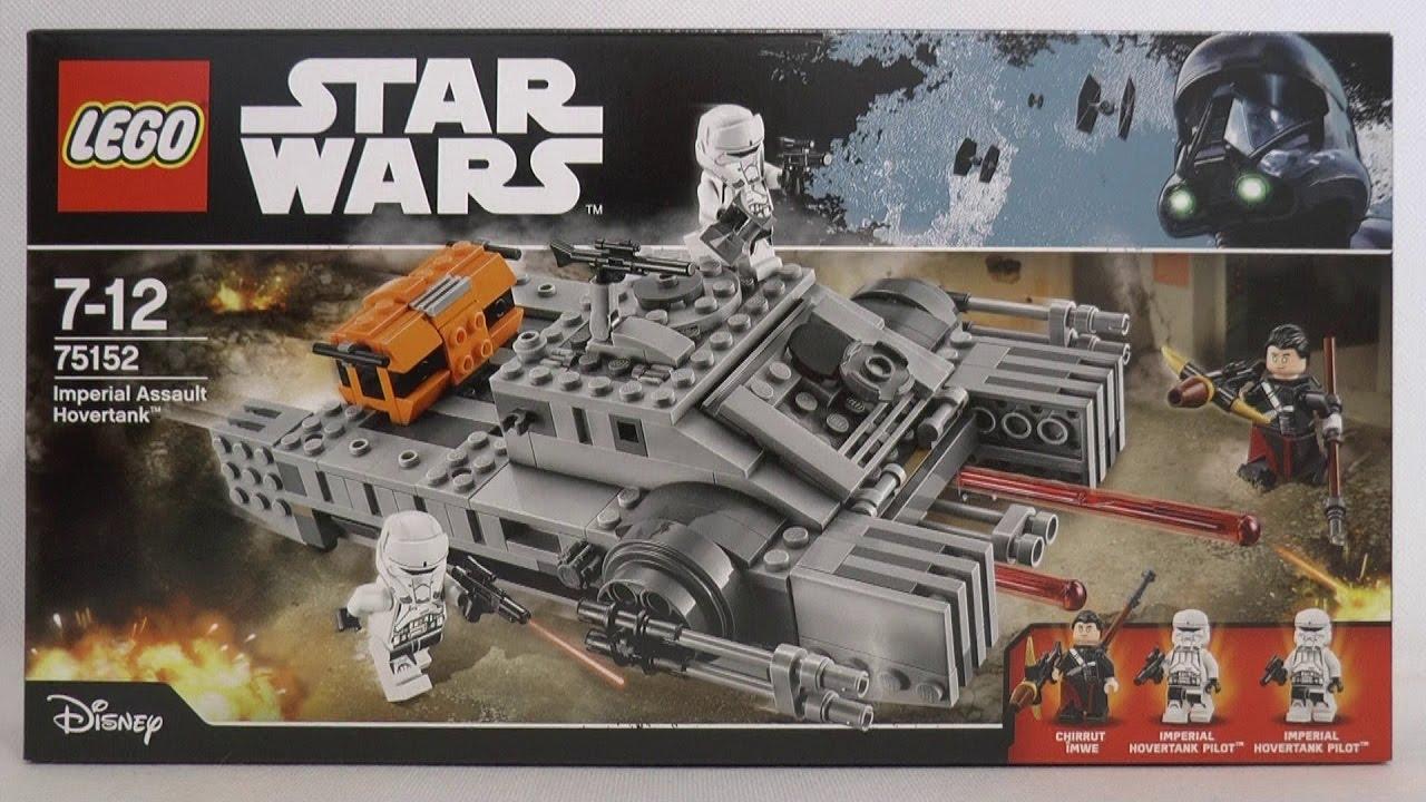Lego Star Wars 75152 Szturmowy Czołg Poduszkowy Imperium Youtube