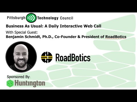 The End of Potholes? RoadBotics CoFounder Goes Live on Business as Usual