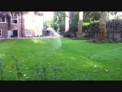 London Residential Garden Irrigation