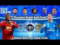 2 Thunder Black Balls Trick🔥🔥 In Magic Moment Stars in #PES19MOBILE