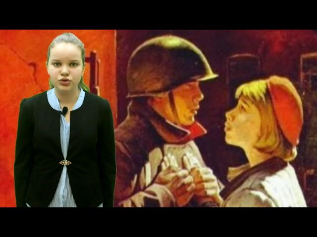 Изображение предпросмотра прочтения – ЕваПереварова читает произведение «Жди меня иявернусь…» К.М.Симонова