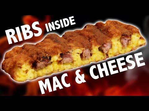 BONELESS RIBS INSIDE MAC N CHEESE  - VERSUS