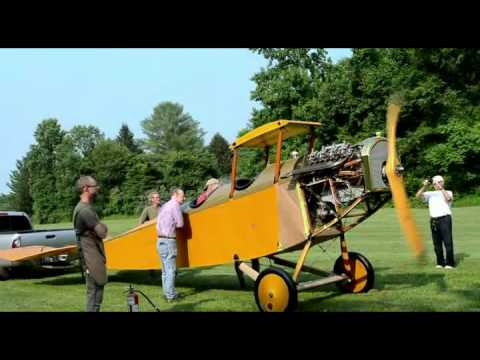 2015 07 07 CURTISS JENNY'S OX-5 ENGINE START, ADJUSTMENT AND CHECKOUT