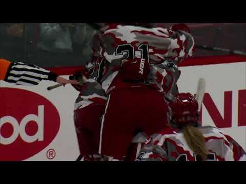 Recap: Harvard Women's Ice Hockey vs. Dartmouth - Oct. 20, 2017