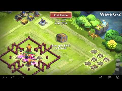 Castle Clash - Th 11 Base Design For Hbm G