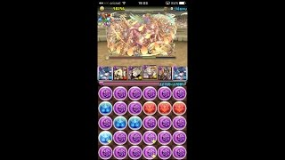 puzzle and dragons challenge dungeons 30 level 10 solo awoken haku pt