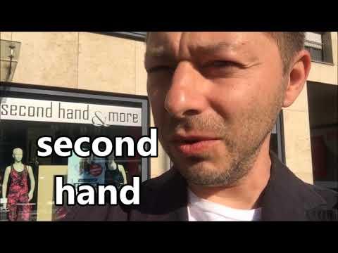 Как переводится second hand