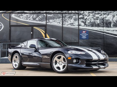 2001 Dodge Viper GTS with 356 miles