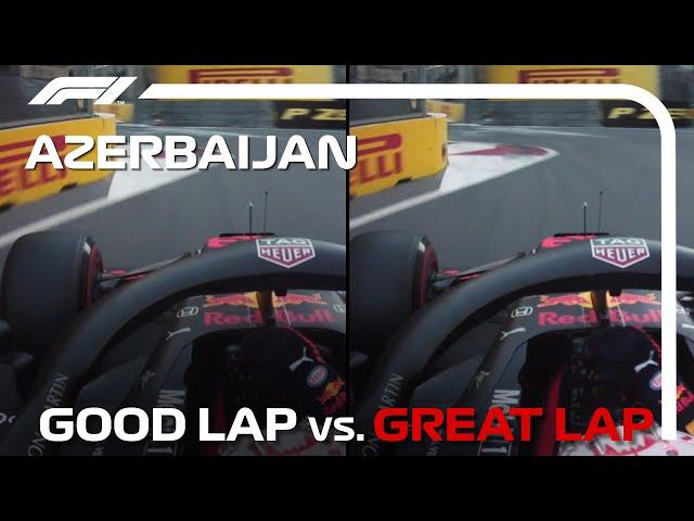 Good Lap Vs Great Lap: 2021 Azerbaijan Grand Prix
