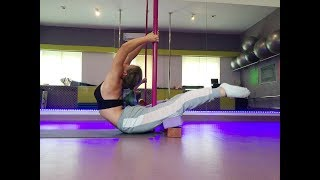 Back Bend & Pole Spin Combo